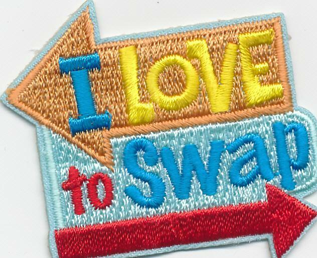Girl I Love To Swap Arrows Fun Patches Crests Badges Scouts Guide Brownies For Sale Online Ebay