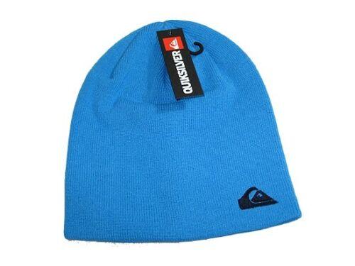 Azul Blue BNWT QUIKSILVER Beanie Hat