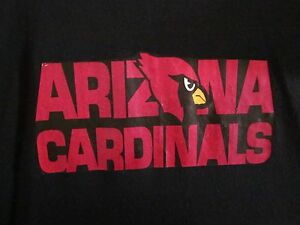 bce43f3f Details about ARIZONA CARDINALS youth lrg T shirt football block lettering  tee size 14-16 NFL