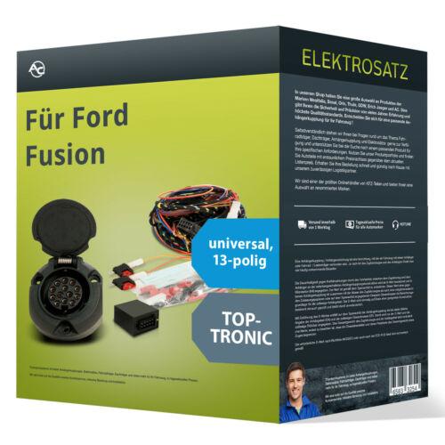 EBA Ford Fusion Elektrosatz 13-pol universell NEU inkl