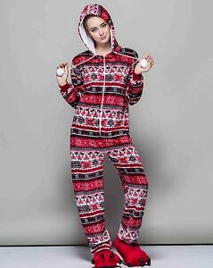 image is loading ugly cute christmas sweater onesi1 pajama red winter