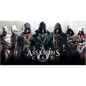 Assassin-039-s-Creed-Grand-Serviette-Bain-Plage-Neuf