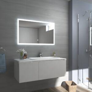 Beliebt LED BAD SPIEGEL mit Beleuchtung Badezimmerspiegel Badspiegel Touch GU44