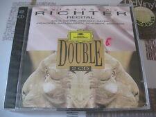 SEALED 2 CD RICHTER Recital Bach Chopin Debussy Haydn 1995 DG France