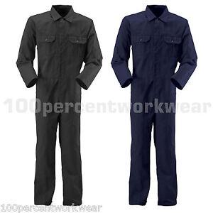 Blackrock-Industrial-Work-Coverall-Overalls-Boiler-Suit-Mechanics-Black-Navy