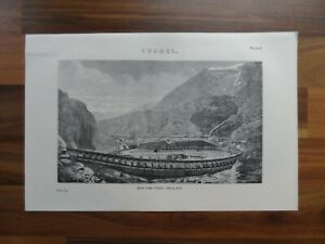 Antique-print-of-the-Mont-Cenis-tunnel-France-19th-century-print