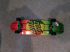 cruiser longboard pro skateboard complete santa cruz 9.22x 33 rasta dot