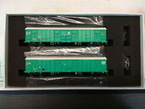 Coffret De 2 Couverts A Bogies Fret Sncf Ls Models 30334 Rare Ep.v Essais