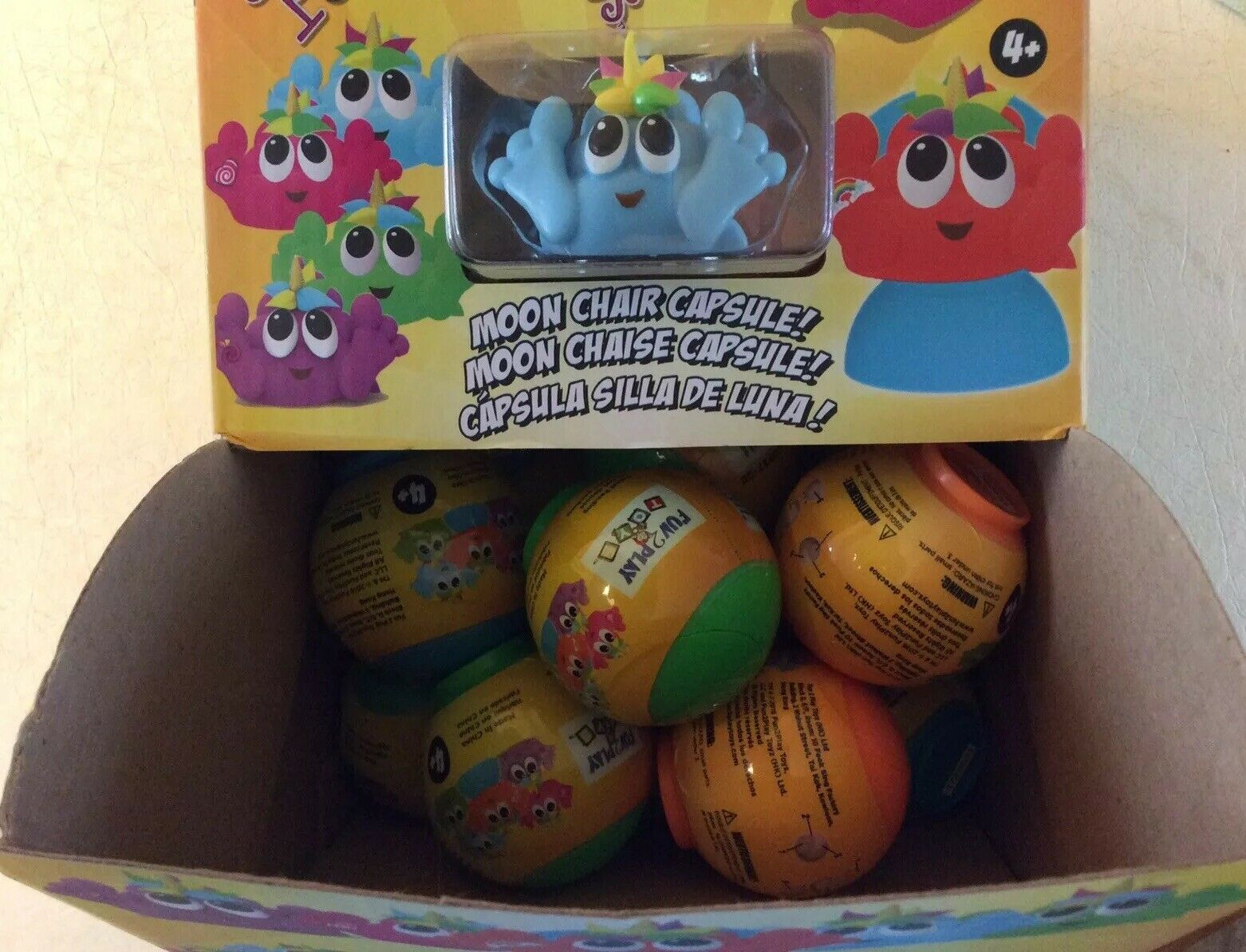 SQUISHIEZ POO-NICORNS VERSION 2.0 BOX OF (30) BLIND CAPSULES SHIPS FAST
