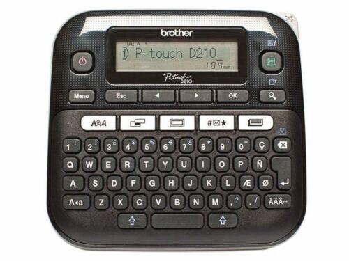 Brother P touch D210 Desktop Beschriftungsgerät Computer Peripherie