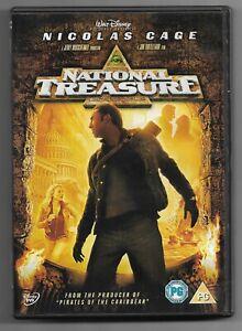 National Treasure 2004 Dvd Nicolas Cage Ebay