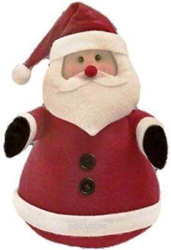 Christmas Santa Felt Door Stop Home Decoration Novelty Gift Festive Heavy Wedge