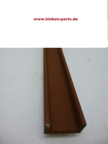 Kratzbodenleisten U-Profil 40 x 20 mm Länge 6000 mm ohne Bohrungen Meterware H