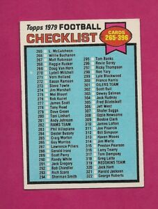 1979-TOPPS-368-UNMARKED-NRMT-CHECKLIST-CARD-INV-A5158