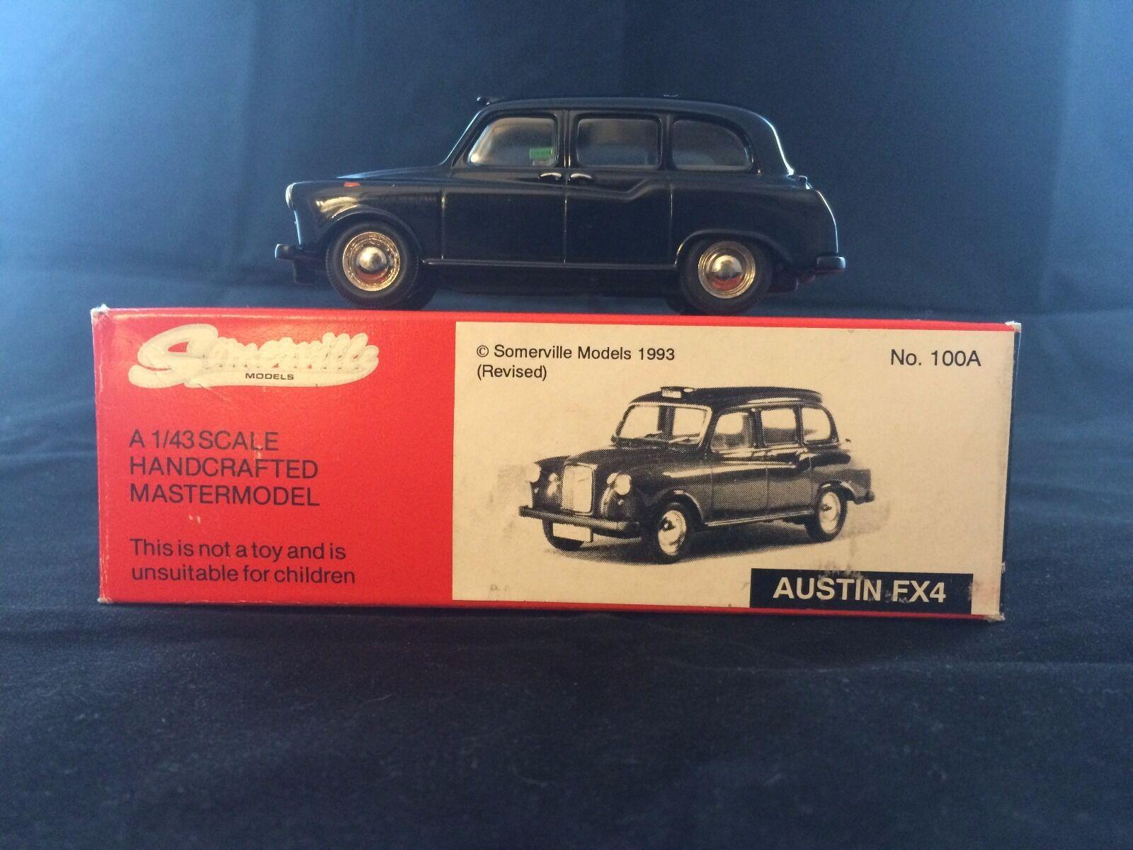 Somerville 100A Austin FX4 Taxi