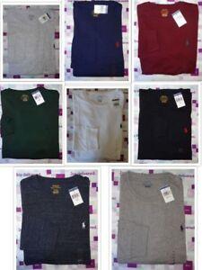 Polo-Ralph-Lauren-Mens-LONG-SLEEVE-CREWNECK-TEE-T-Shirt-Brand-New-With-Tag-NWT