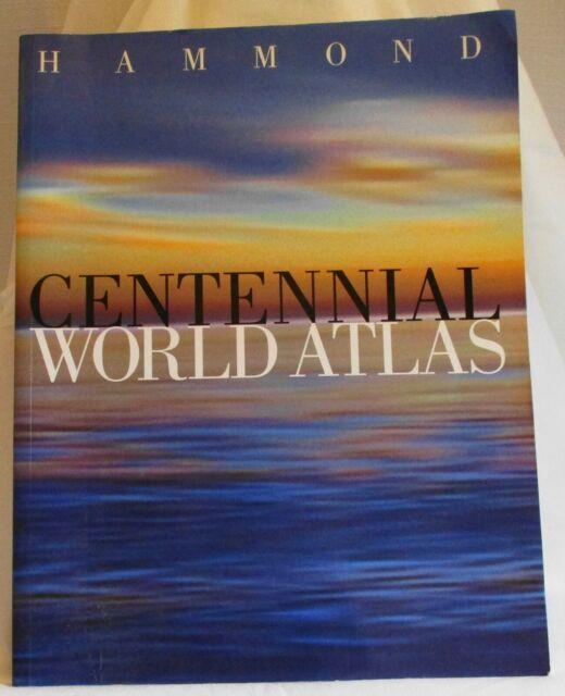 Hammond Centennial World Atlas by Hammond Incorporated 1998 PB (SKU# 3102)