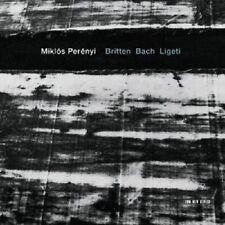 MIKLOS PERENYI - BRITTEN BACH LIGETI  CD NEU