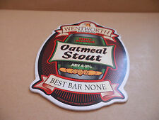Wentworth Brewery Oatmeal Stout Ale Beer Pump Clip Bar Collectible