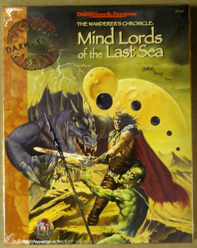 Dungeons & Dragons Dark Sun Mind Lords  of the Last  Sea  negozio di sconto