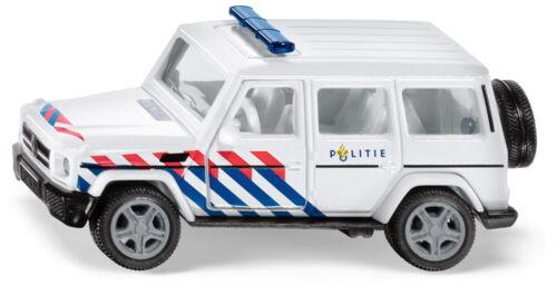"""plastica Siku 2308 Mercedes-AMG g65 /""""POLIZIA MILITARE/"""" 1:50 metallo"""