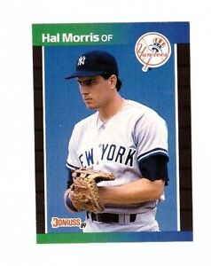 Details About 1989 Donruss Baseball Card 545 Hal Morris Ny Yankees