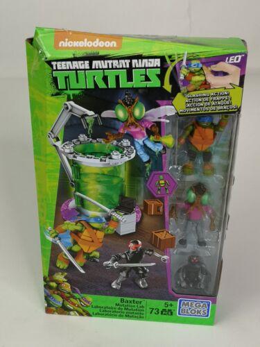 Leo /& Foot Soldier Mega Bloks Teenage Mutant Ninja Turtles Baxter mutation Lab