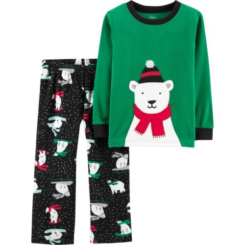 Carters Boys Pajamas Dinosaur Bear Fire Truck