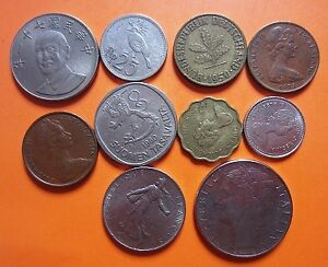 Circulated-coins-from-10-countriies