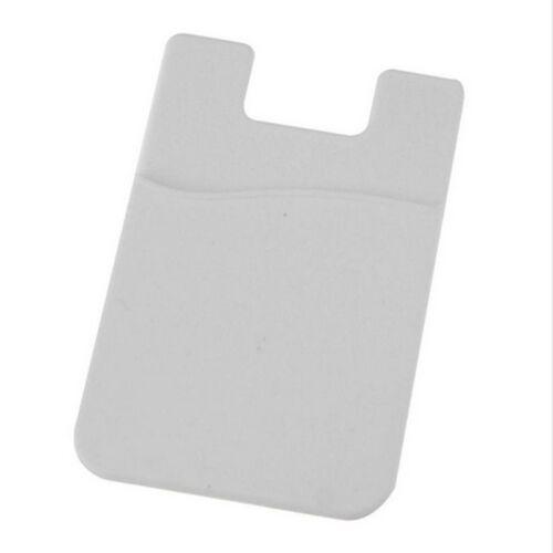 Mobile Phone Car Smart Wallet Silicone Cash Opal Credit Card Holder Pocket #E4