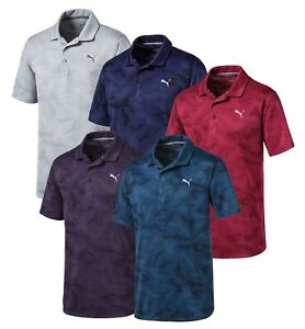 PUMA-ALTERKNIT-CAMO-POLO-MENS-GOLF-SHIRT-595715-NEW-2019-PICK-SIZE-amp-COLOR