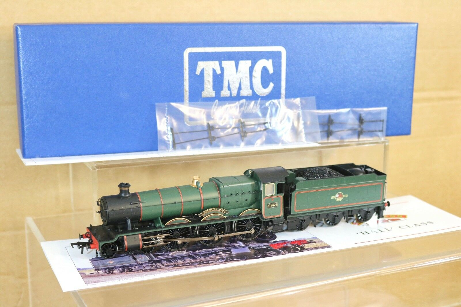 BACHMANN TMC RENAMED BR 4-6-0 HALL CLASS LOCO 6954 LOTHERTON HALL BOXED np