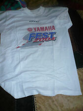 yamaha vintage t shirt yamaha fest 2004 misano taglia xl per collezionisti