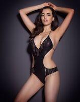 Agent Provocateur Lu-lou Swimsuit In Black - Ap Size 3 -