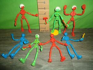 vintage 1969 Mattel togl'man action figure lot