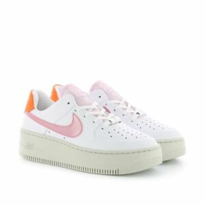 Details about Nike Wmns Air Force 1 Sage Low White Digital Pink Platform  Shoes Trainers Womens- show original title