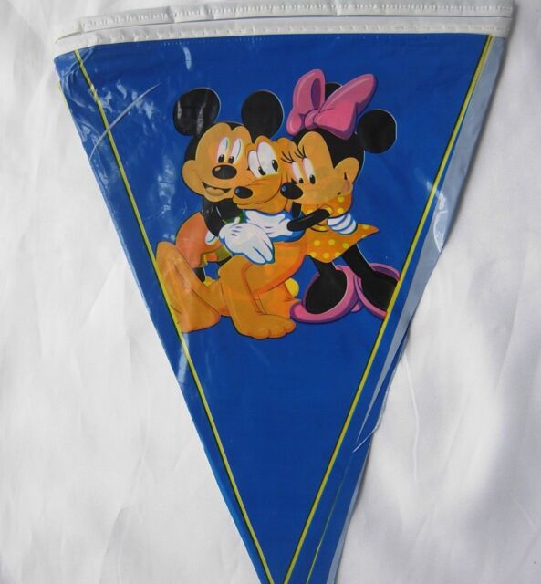 3M Children Kids Boys Birthday party Bunting,Banners Decoration Mickey Mouse