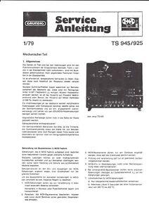 Grundig B6553 Service Manual Anleitung Schaltplan Für Tuner T 101