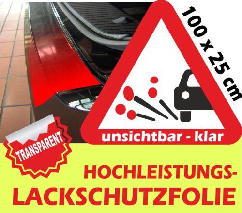 Steinschlagfolie Lackschutz Türkantenschoner Lackschutzfolie Klar 100 x 25 cm