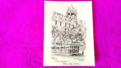 Lithography Original Ref 6 Simo Busom I Grau Signed Numerada 1973 24x18