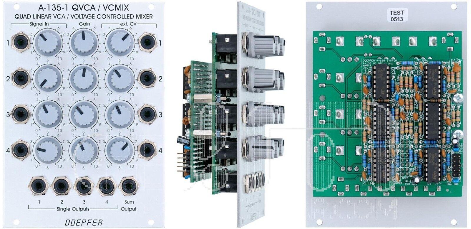 Doepfer A-135-1 Vc Mixer   Quad Vca   Eurorack  Nuova Detroit Modulare]