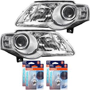 Scheinwerfer-Set-VW-Passat-IV-Bj-02-05-11-inkl-Motor-H7-H7-inkl-Lampen