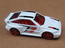 2016 Hot Wheels 85 HONDA CR-X 85/250 Night Burnerz LOOSE White