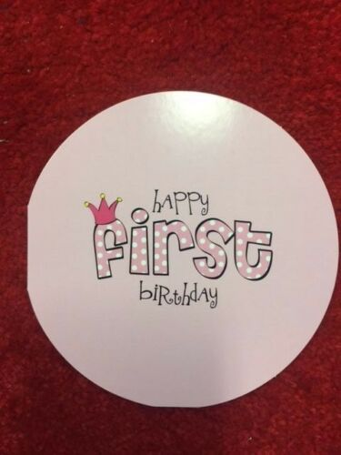 "5 Pack of Paper Eskimo /""Baby Girl Turns One/"" Happy First Birthday Greeting Card"