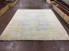 """On Sale Great Deal Hand Knotted Oushak Rug  Carpet Geometric 8x10,7'11""""x9'9"""""""