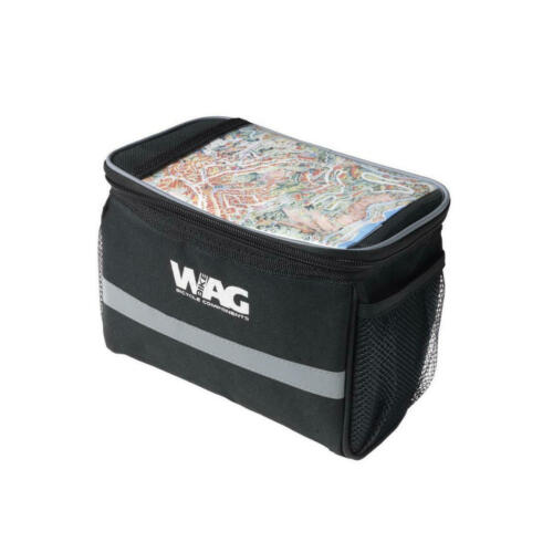 borsa anteriore portamappa mini attacco al manubrio in straps 588022071 WAG bici