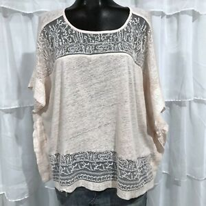 MEDIUM-LUCKY-BRAND-Pink-Lace-Inset-Top