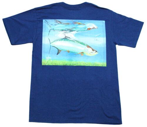 Guy Harvey Men/'s Tarpon Reflections T-Shirt