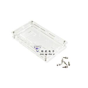 New-Clear-Acrylic-Box-Enclosure-Gloss-Transparent-Case-for-Arduino-Mega2560-R3