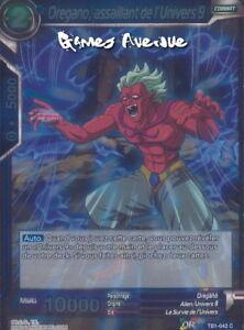 Oregano Assaillant Univers 9 TB1-042 VF//FOIL /'C/' Dragon Ball Super Card Game